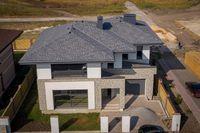 Продам 2 эт дом c парящей крышей в стиле Френка Райта  под Ваш ремонт