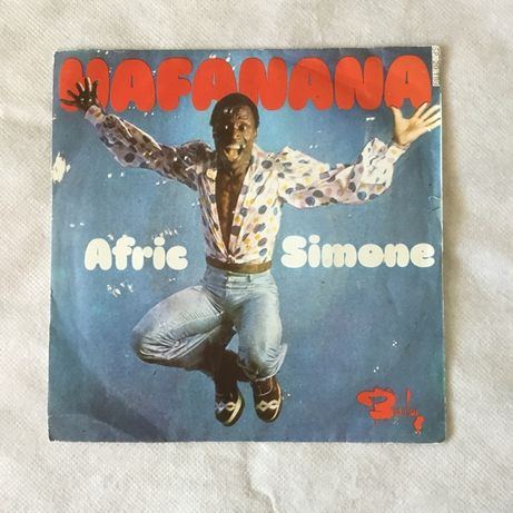 Vinil single Afric Simone - Hafanana