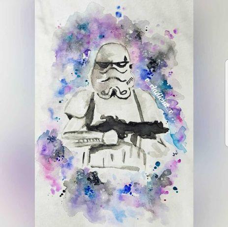 Дарт Вейдер  Star Wars открытка