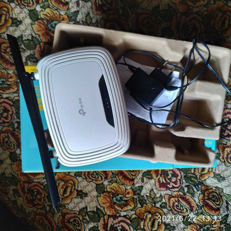 tp-link N300 Wi-Fi роутер ТL-WR841N