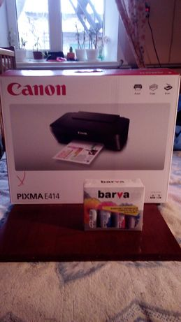Принтер Canon PIXMA E 414 новый