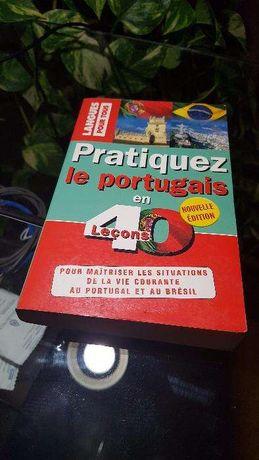 Livro Pratiquez Le Portuguais en 40 Leçons