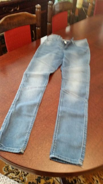 Spodnie dziewczęce ze stretch 162
