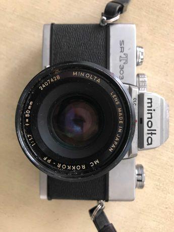 Camara fotográfica analógica Minolta SRT303