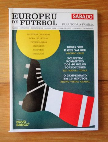 Livro 'Europeu de Futebol para Toda a Família'