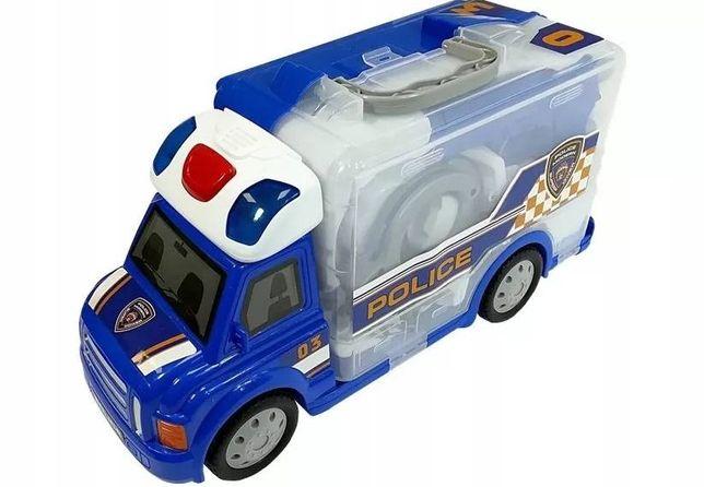Набор полицейского с машинкой Limo Toy (M )