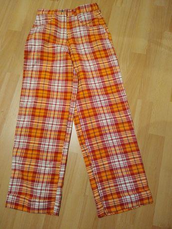 Spodnie szerokie roz 146