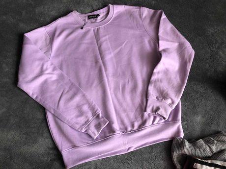 Лавандовый свитшот тельняшка  свитер боди гольф боди майка