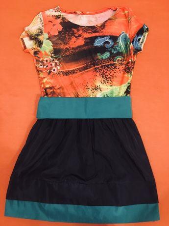 Новое женское яркое платье Л р