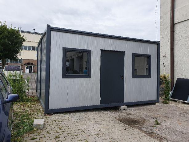 Nowy kontener budowlany