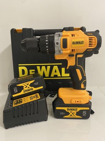 Очень мощный ударный аккумуляторный шуруповерт Dewalt DCD791P2.20v5.0a