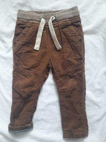 Spodnie sztruksowe Next 80
