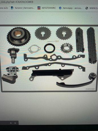 Комплект грм (цеп+Ролик) Nissan