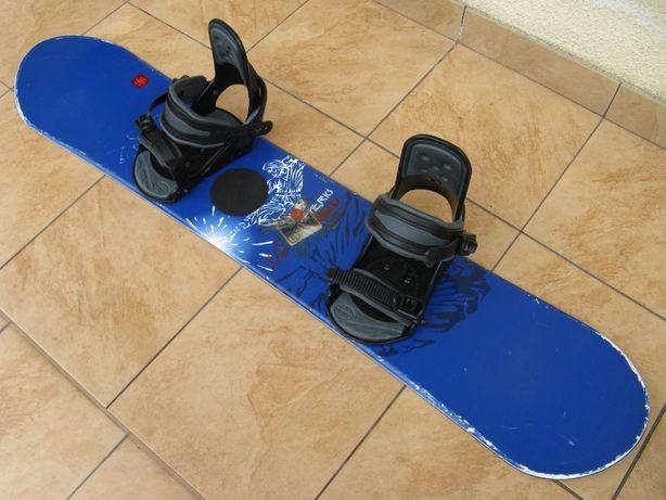 Deska snowboardowa Generics Hero 135 cm + wiązania Generics