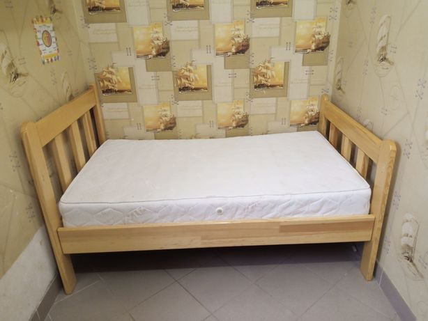 Кровать детская, Ліжко дитяче дерев'яне