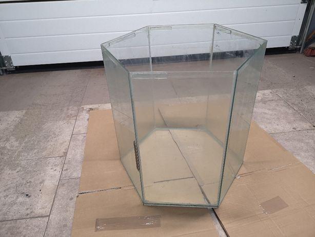 Akwarium sześciokątne 85 litrów