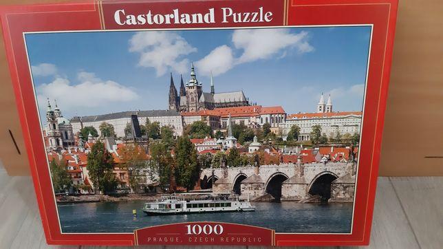 Puzzle 1000el z antyramą