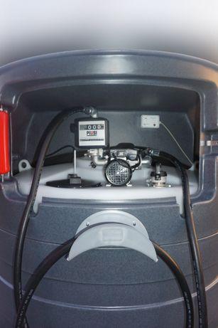 Zbiornik na paliwo dwupłaszczowy 1500L
