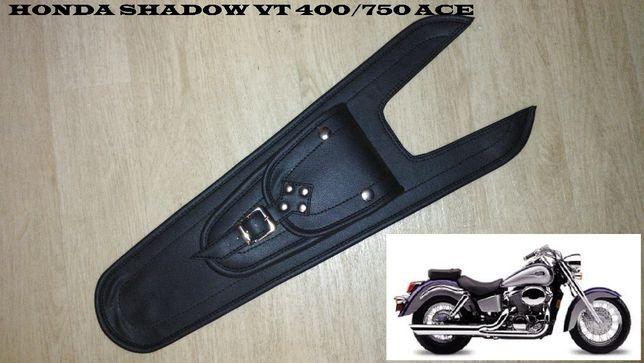 Накладка (галстук) кофр на бак для мото Honda Shadow VT400/750 ACE