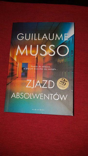 """Książka """"Zjazd absolwentów"""" Guillaume Musso"""