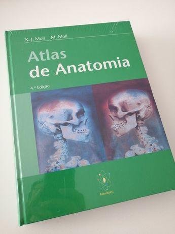 Atlas de Anatomia Moll - Novo