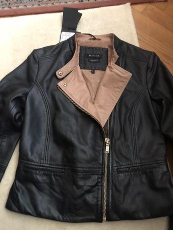Продам кожаную куртку Massimo Dutti