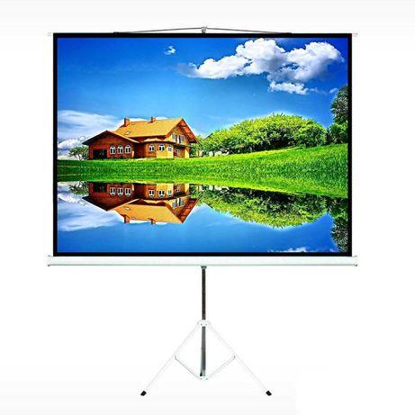 Проекційний екран для проектора Maclean Розмір 240х180 см