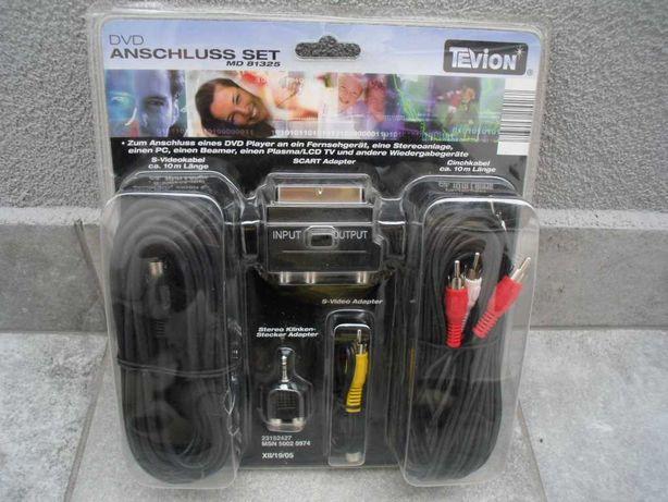 Adapter przylaczy audio-video -DVD -TV - komplet roznych zlaczy