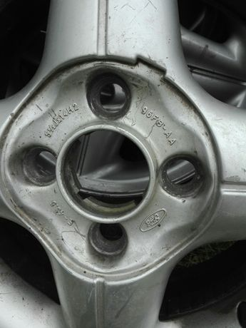 alufelgi 14 + opony letnieFord Fiesta Mk6 +5