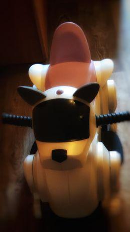 Электромобиль детский собака робот электромотоцикл