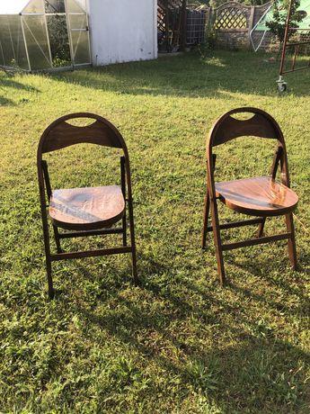 Dwa krzeselka super stan