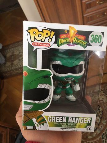 Funko POP MMPR Power Rangers Green zielony wojownik