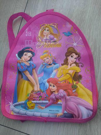 Mały plecaczek do przedszkola Princess