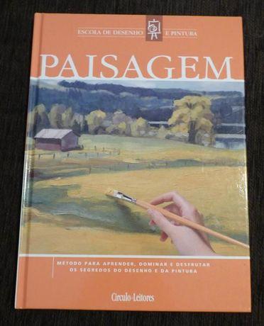 Paisagem - escola de desenho e pintura - círculo de leitores