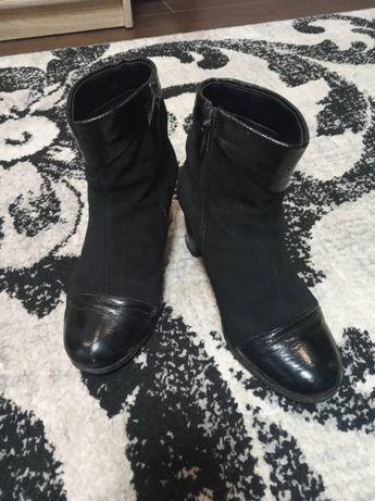 Ботинки на осень кожа
