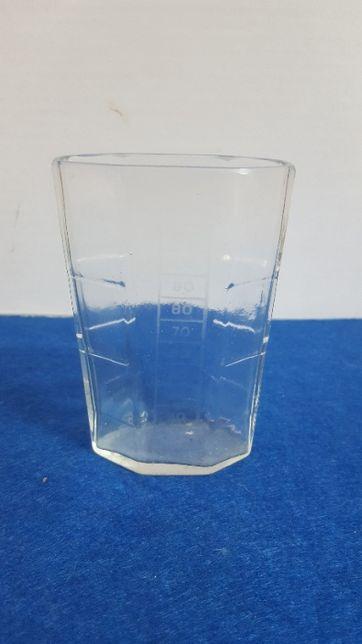 Antigo copo medidor , com publicidade ás Aguas de S. Vicente.
