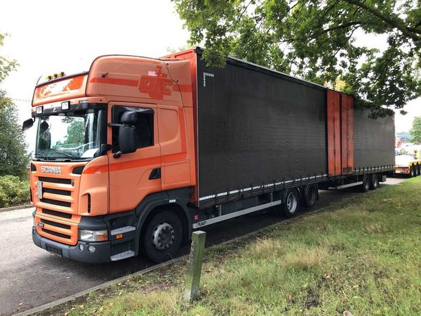 Scania R380 Camiao mais reboque