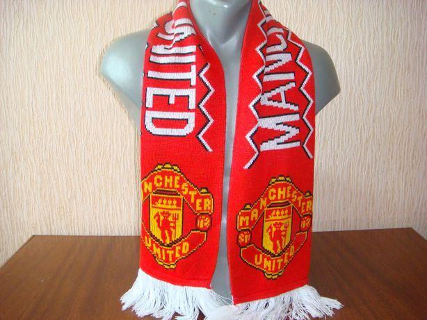 Футбольный шарф FC Manchester United (Манчестер Юнайтед) MU