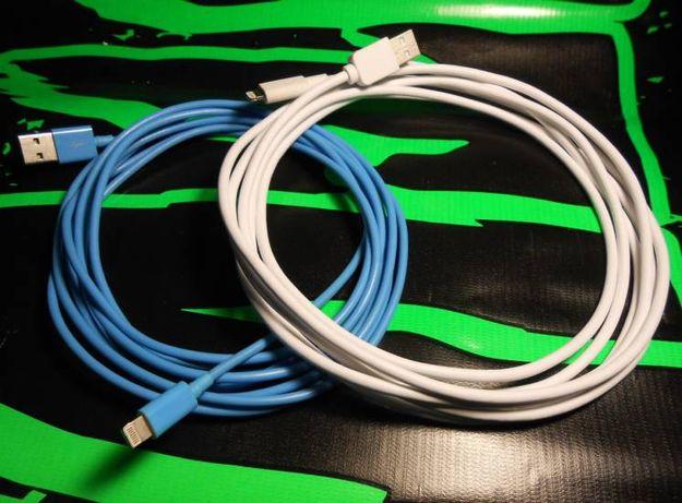 3 м! MFI серт. Длинный lightning кабель для iPad iPhone iPod