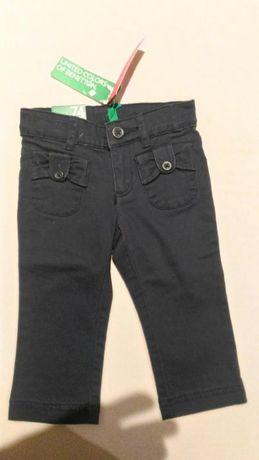 Calças menina Benetton tamanho 74 (9-12 meses)