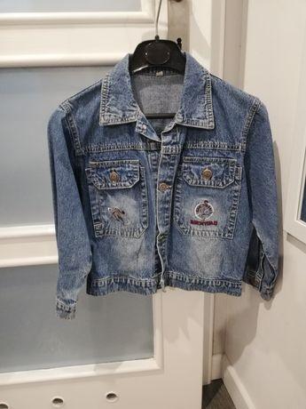 Kurtka jeansowa rozmiar 134