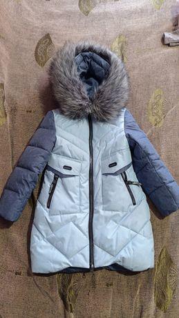 Зимнее пальтишко для девочки