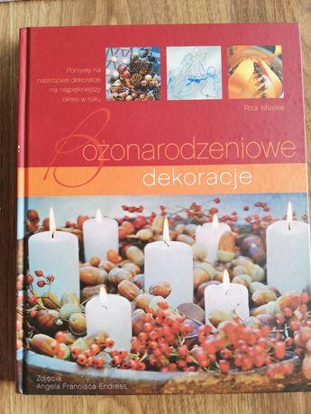 Książka Bożonarodzeniowe Dekoracje