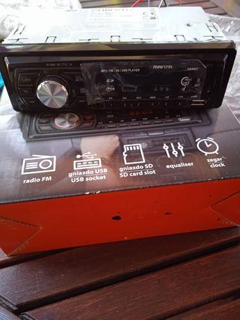 Radio Manta z USB NOWE
