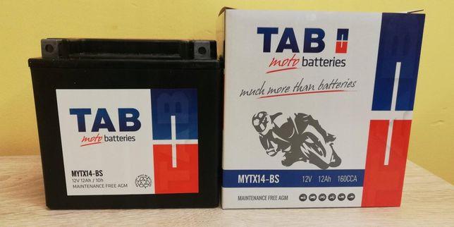 Akumulator motocyklowy Tab 12V/12Ah Ytx14-bs