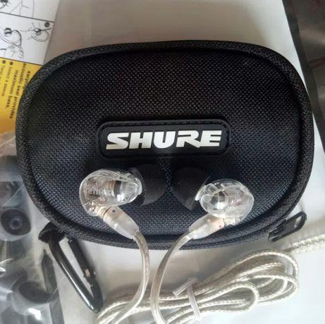 Наушники Shure SE215 Детализированный звук с глубокими басами/Германия