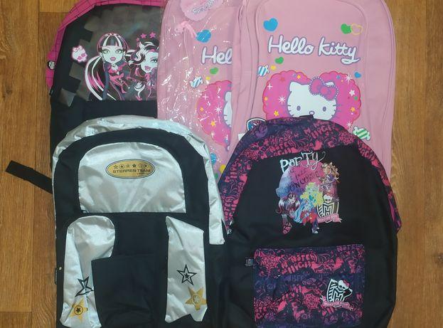 Новый рюкзак школьный городской Китти Монстер хай портфель сумка