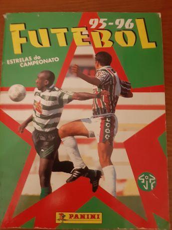 Caderneta completa  1995/96