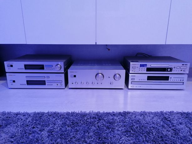 Onkyo Integra hi-end zestaw stereo A9711 DX7711 T4711 DV-SP800 DX-C390