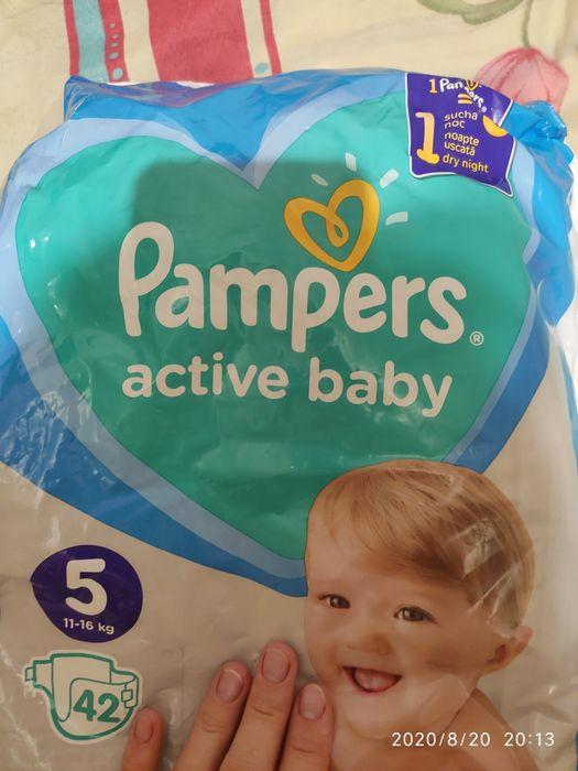 Памперсы Pampers 5(15штук) Лозовая - изображение 1